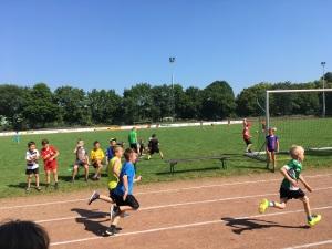 Laufen, Werfen und Springen im Karl-Knipprath-Stadion